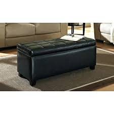 Leather Storage Ottoman Coffee Table Storage Ottoman Coffee Table Christlutheran Info