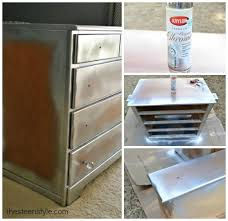 Nightstands With Mirrored Drawers Diy Mirrored Nightstand The Steen Style
