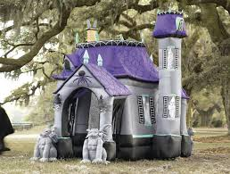 Outdoor Inflatables Haunted House The Green