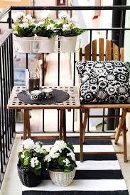 How To Live In A Small Space Decoratie Klein Terras Tuin En Balkon Pinterest Balconies