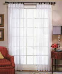 Pinch Pleat Patio Door Panel Custom Pinch Pleated Sheer Curtains 2 To 1 Fullness