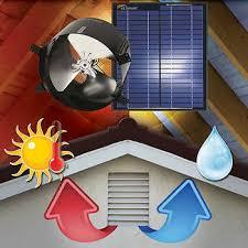 solar attic fan costco solar attic gable fan ventilates 2 400 sq ft