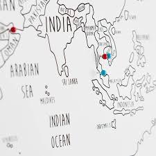 World Map Push Pin Board by Maps Update 1312866 World Map To Pin Travel U2013 2nd Anniversary