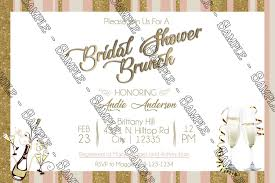brunch bridal shower invitations novel concept designs chagne brunch bridal shower invitation