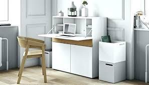 bureau secr騁aire informatique secretaire blanc laque bureau secretaire blanc meuble bureau