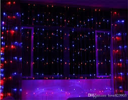 wedding backdrop led christmas led digital light 110v 240v 512 light blue white