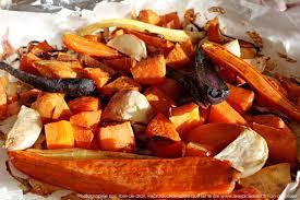 cuisine automne légumes d automne confits au four au miel et épices les épices