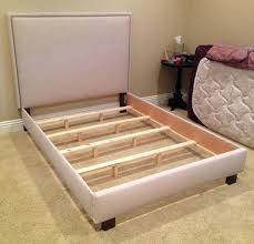 Queen Bed Frames And Headboards by Diy Upholstered Bedframe That You Can Take Apart When You Move