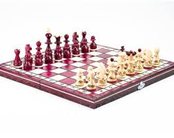 Futuristic Chess Set Handmade Chess Set Etsy