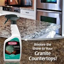 Caring For Granite Kitchen Countertops Amazon Com Weiman Granite Cleaner And Polish 12 Fluid Ounce