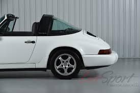 porsche 964 white 1992 porsche 964 carrera 2 targa carrera stock 1992132 for sale