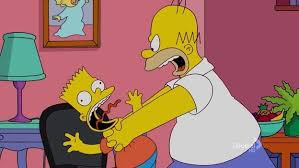 Angry Dad Meme - homer angry dad choking meme generator