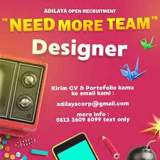 lowongan kerja desain solo lowongan graphic desainer adilaya forum lowongan kerja