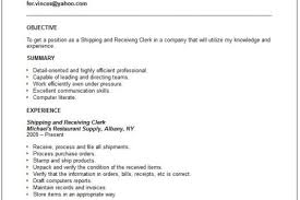shipping and receiving manager resume shipping supervisor resume reentrycorps