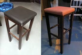 How To Reupholster A Side Chair Monster Post How To Reupholster A Stool Core77
