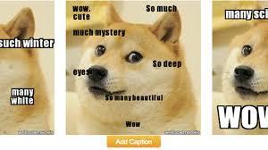 Doge Meme Meaning - we who spoke lolcat now speak doge