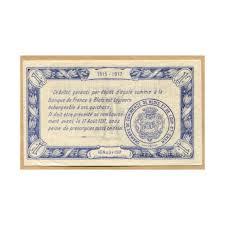chambre du commerce blois blois 1 franc 16 août 1915 chambre de commerce montay numismatique