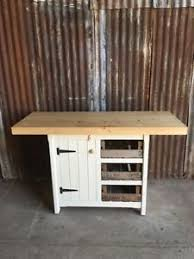 kitchen island ebay rustic wooden pine freestanding kitchen island handmade breakfast