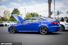 lexus isf top speed beautiful blue lexus is f cv t vossen cvt pinterest lexus