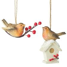 midwest robin ornaments 102427