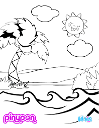 pinypon water park coloring pages hellokids com