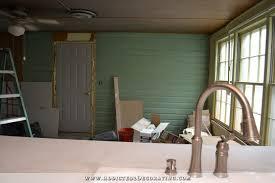 Painted Shiplap Walls My Breakfast Room U2013 Shake Siding Or Shiplap Siding