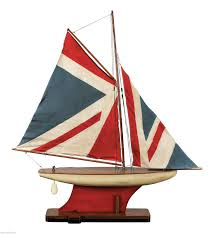sailboat home decor nautical union jack pond yacht decorative sailboats nautical