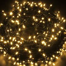 Solar White Christmas Lights by 50m 250 Led String Fairy Lights 8 Mode Lamp Holiday Party Wedding