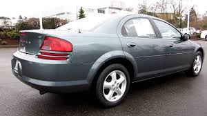 2006 dodge stratus sxt midnight blue pearl stock 32991a walk