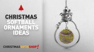 top 10 softball ornaments ideas snowman ornament with