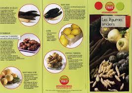 cuisiner les l馮umes anciens légumes anciens brochure informative plantes légumes et fruits