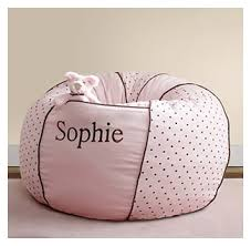 gift giving personalized kids bean bag chair