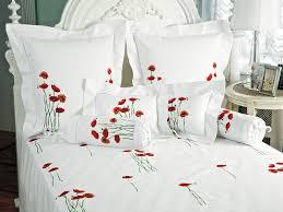 schweitzer linen poppies in bloom fine bed linens luxury bedding italian bed