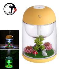 mist humidifier air ultrasonic humidifiers aroma essential 180ml landscape ultrasonic humidifier air humidifier home appliances
