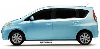 Daihatsu Mpv New Toyota Mpv Details Of The New 3 Row Compact That Perodua Will