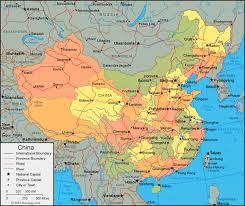 map of china china map and satellite image
