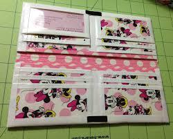 minnie mouse duck tape wallet wallets pinterest duck tape