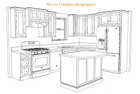 12x12 kitchen floor plans 12x12 kitchen floor plans u shaped modern home design and 12x12