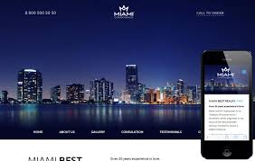 miami flat luxury template bootstrap stage