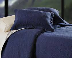 Quilted Coverlets And Shams Denim Navy Blue Matelasse Quilt Coverlet Bedroom Cpr