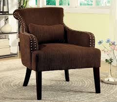 Brown Accent Chair Brown Fabric Accent Chair Caravana Furniture