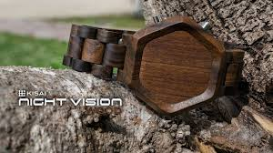 cool wood watches kisai vision wood led design from
