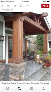 deck columns radnor decoration
