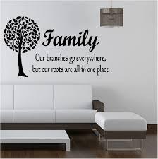 family tree like branches vinyl art sticker bedroom lounge ebay