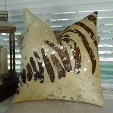 Cowhide Pillows Cowhide Throw Pillows Pillowsanddecor U2013 Pillowsanddecor