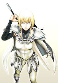 claymore claymore clare by cielociel on deviantart animes medievales