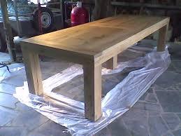 comment faire une table de cuisine plan table exterieur bois grande jardin palettes fabriquer sa de en
