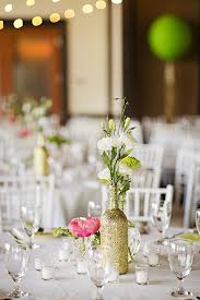 Coral Wedding Centerpiece Ideas by Handmade Bright Green And Coral Wedding Glamour U0026 Grace