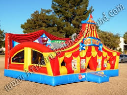 carnival party rentals carnival circus themed bounce house rentals carnival birthday