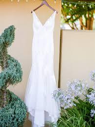 sonoma white and green winery wedding ruffled